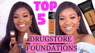 Best Drugstore Foundations For Oily Skin I Full Coverage Makeup For Oily Skin