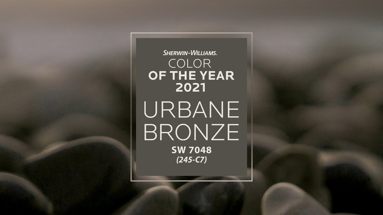 Sherwin Williams 2021 Color Of The Year Urbane Bronze Youtube