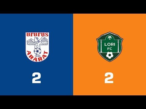 Ararat - Lori 2:2, Armenian Premier League 2018/19, Week 15