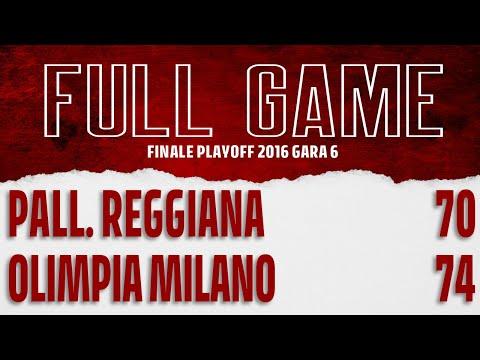 Reggio Emilia - EA7 G6 On Demand