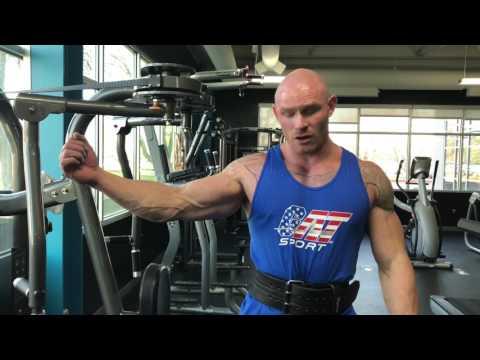 Bodybuilding.com: Instruction for PecDeck Fly