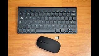 Беспроводной комплект (мышка + клавиатура) за 10 долларов и декоративная лента с AliExpress