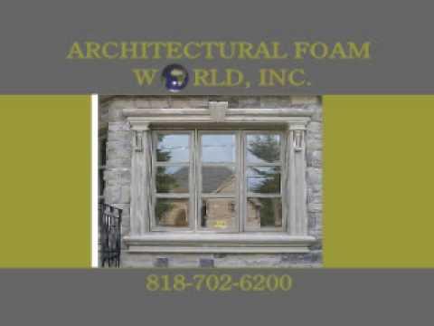 Foam molding exterior molding stucco molding canoga park - Exterior decorative foam molding ...