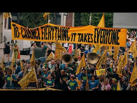 200,000 Rally For Climate Justice in DC