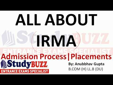 All about IRMA | Placements- Admission process- Fees structure- Cut Offs