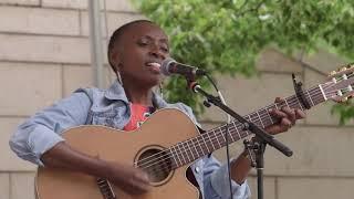 """Afro-folk singer and songwriter Naomi Wachira performs """"Mûrathimwo"""""""