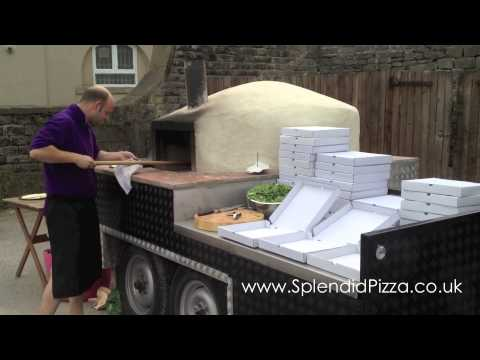 authentic wood burning pizza ovens and oven trailer for sale and for hire splendid pizza youtube