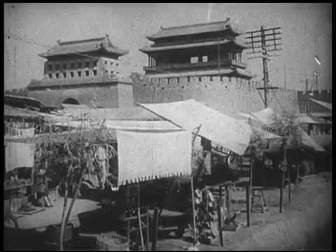 The old China before WW2: From  Mongolia to Beijing.