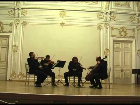 Bela Bartok. String Quartet No.6. III. Mesto - Burletta