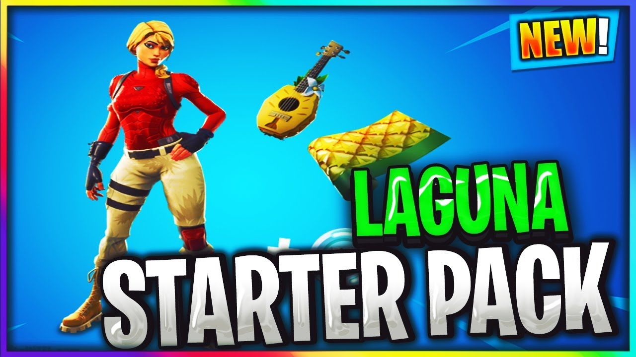new free skin laguna starter pack in fortnite v8 10 files - fortnite laguna pack