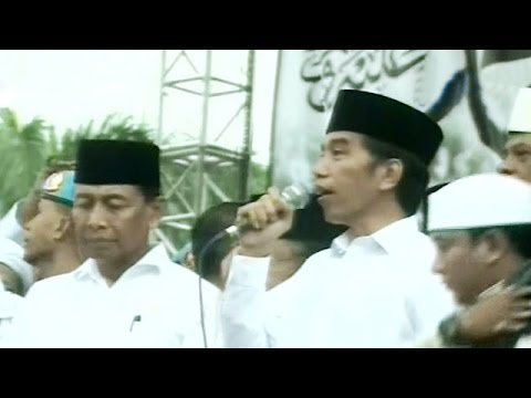 Sambutan Presiden Jokowi Di Depan Jutaan Peserta Aksi Damai 212