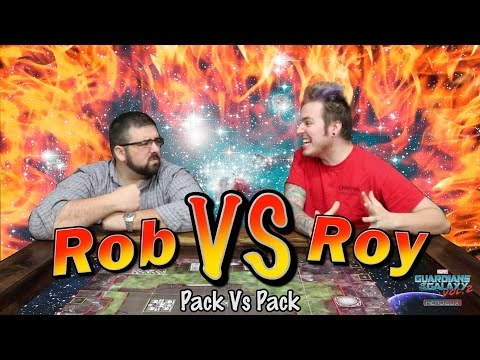 PvP HeroClix Guardians of the Galaxy - with Rob & Roy
