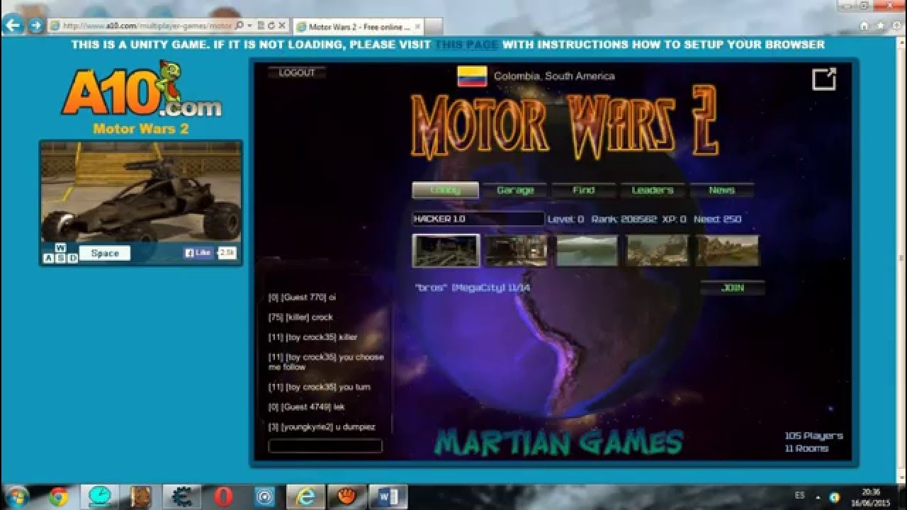 hack motor wars 2 de rank not work no funciona youtube