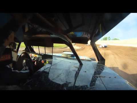 Chris Budzban IMCA Northern Sportmod Heat Race Seymour Speedway 6/12/11