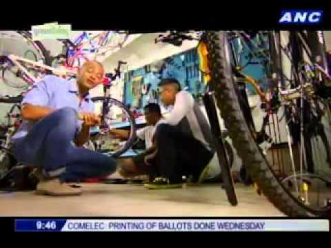 ANC Green Living: Bike maintenance, Got Heart Shop, Onlywood Eco Furniture