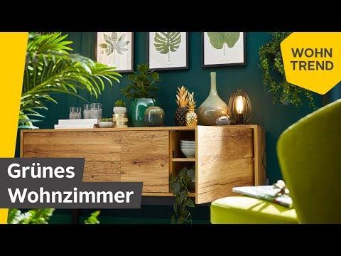 Grünes Wohnzimmer: Der Wohntrend Botanical Green | Roombeez – powered by OTTO