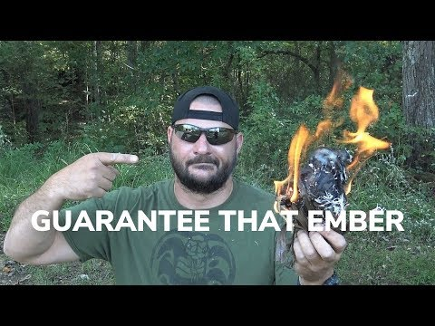 The Best Kept Bow Drill Secret - Guarantee That Ember