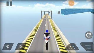 Mega Ramp Stunt Bike Race game Bike Racing Games Android Gameplay