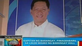 Kapitan ng barangay sa Davao del Norte at Maynila, patay sa magkahiwalay na pamamaril