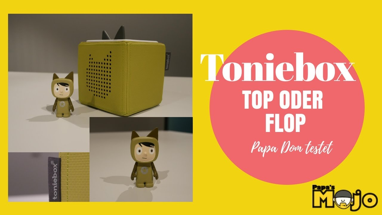 Toniebox - Top oder Flop? - Papas Mojo