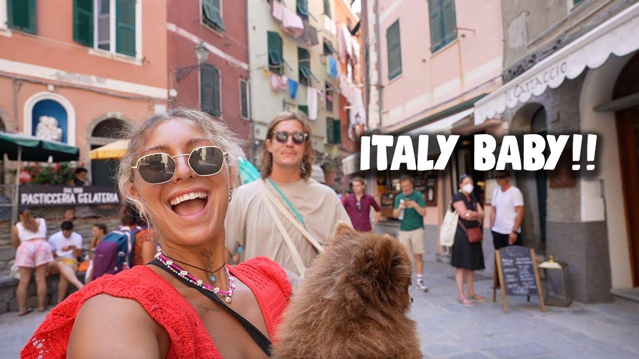 ÄNTLIGEN ITALIEN - VLOGG