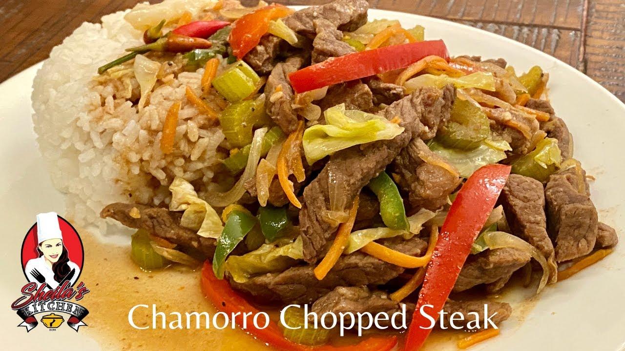 chop steak chamorro recipe Chamorro Chopped Steak