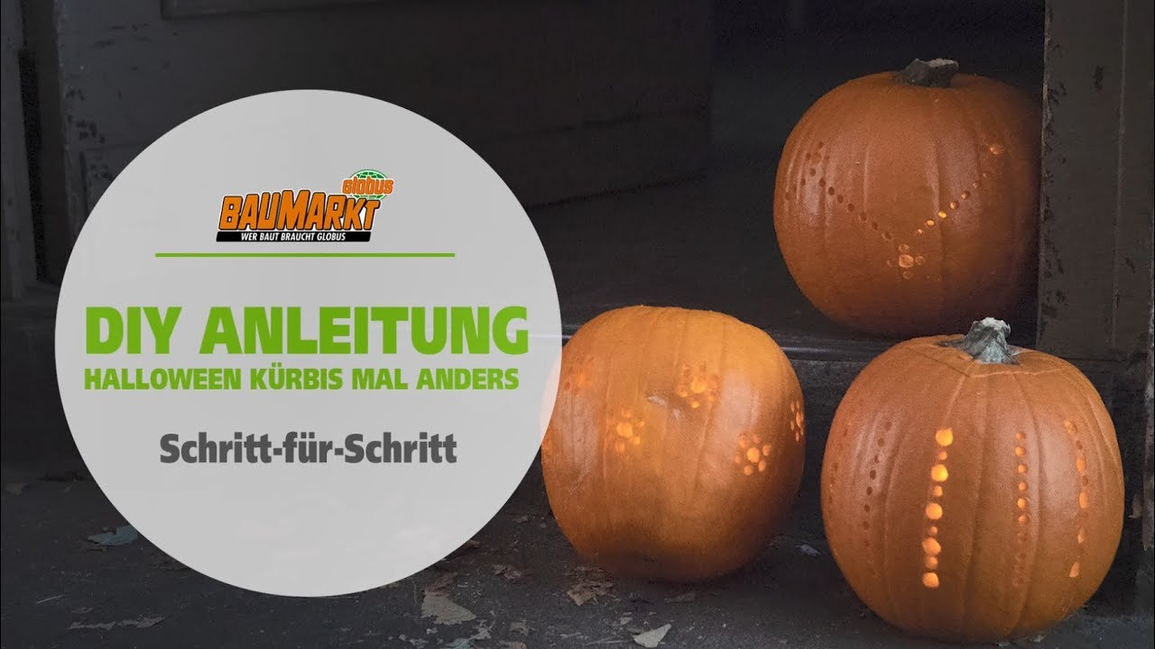 Halloween Kürbis Basteln Mal Anders Globus Baumarkt
