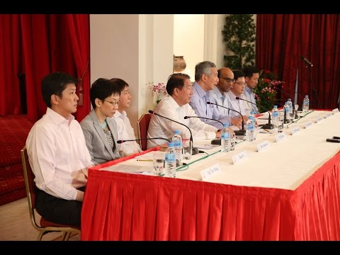 Press Conference on New Cabinet Line-Up (Sep 2015)