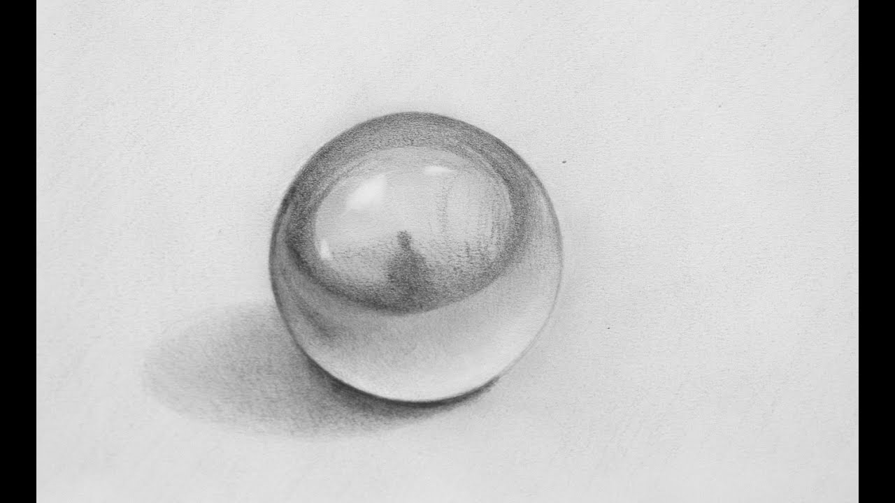 Drawing a Sphere with a fantastic Pencil 3D Illusion - Fine Art ...