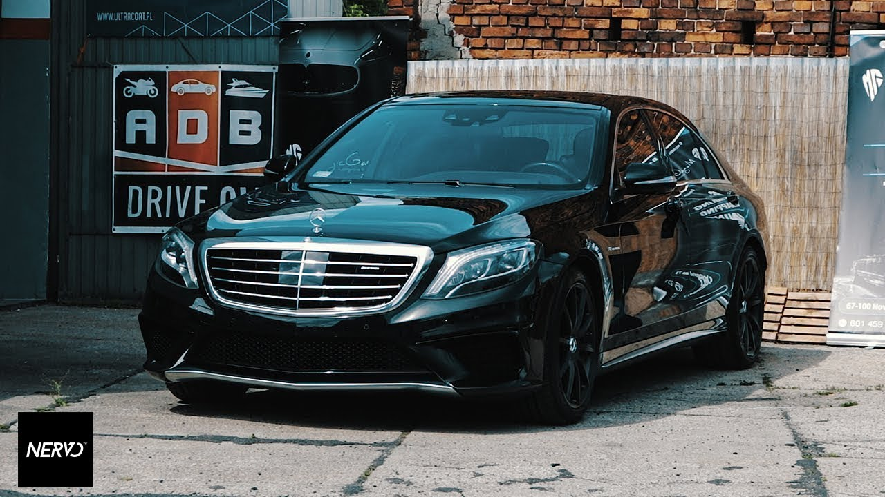 Mercedes benz s63 amg l detailing magic garage youtube for Garage amg auto