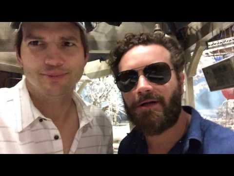 Ashton Kutcher and Danny Masterson have some words for JeriKO