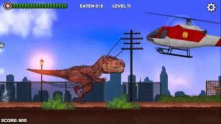 Tyrann Dinosaurier wissen Feuer-spray | Tyrann Dinosaurier-Spiel | Cartoon-AC