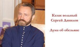 Сергей Данилов - Дума об обезьяне