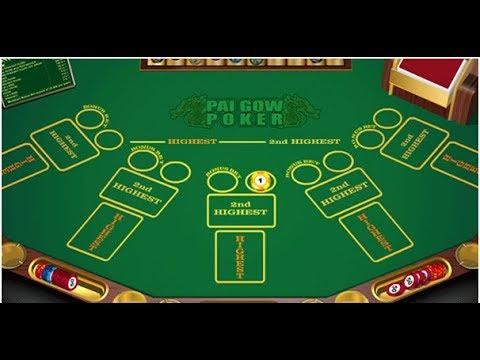 How to play Pai Gow Poker: Best Strategy