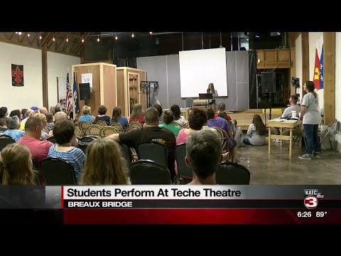 Students Perform at Teche Theatre