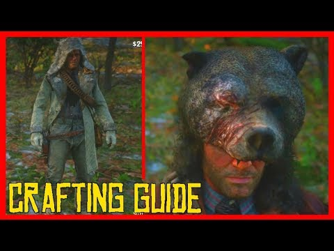 How To CRAFT RARE Items With LEGENDARY Animals in RDR2! (Red Dead Redemption 2 Guide)