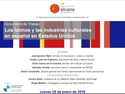 Latinos e industrias culturales en español en Estados Unidos