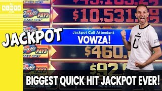 💯 My BIGGEST Quick Hit Jackpot EVER! 💰 A Wild Party! ✪ BCSlots (S. 25 • Ep. 2)