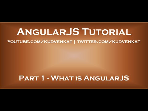 angularjs tutorial what is angularjs youtube
