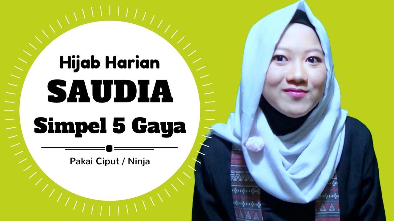 Cara Memakai Hijab Saudia