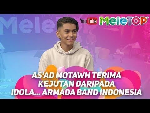 As'ad Motawh terima kejutan daripada idola... Armada Band Indonesia