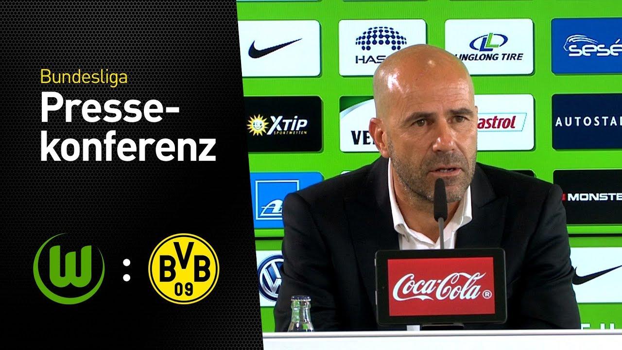Peter Bosz nach dem Sieg in Wolfsburg   VfL Wolfsburg - Borussia Dortmund 0:3