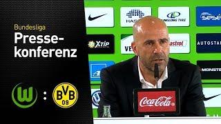 Peter Bosz nach dem Sieg in Wolfsburg | VfL Wolfsburg - Borussia Dortmund 0:3