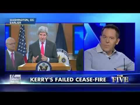 The Five: Why John Kerry Failed To Broker A Mideast Cease-Fire