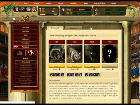 Gladiatus Hero of Rome Gameplay