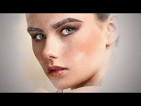 Photoshop Tutorial: How to Transform a Face into a Mixed Media Portrait