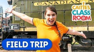 Let's Go to The Toronto Railway Museum | Caitie's Classroom