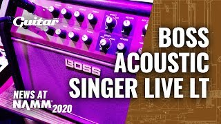 Demo: The Boss Acoustic Singer Live LT has all of your performance needs covered #NAMM2020