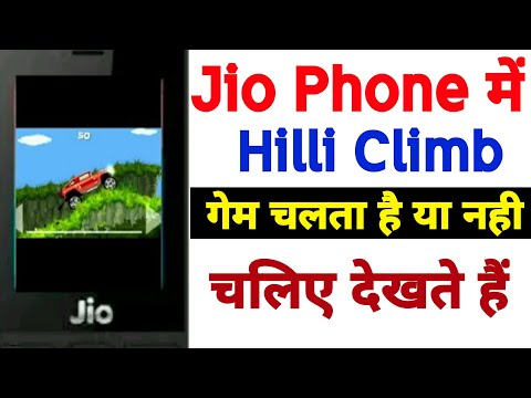 Jio Phone Me Hill Climb Racing Game Kaise Khele How To Play