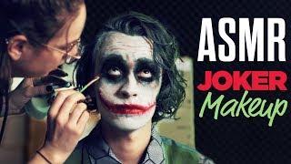 ASMR JOKER MAKEUP (Heath Ledger) - NO TALKING